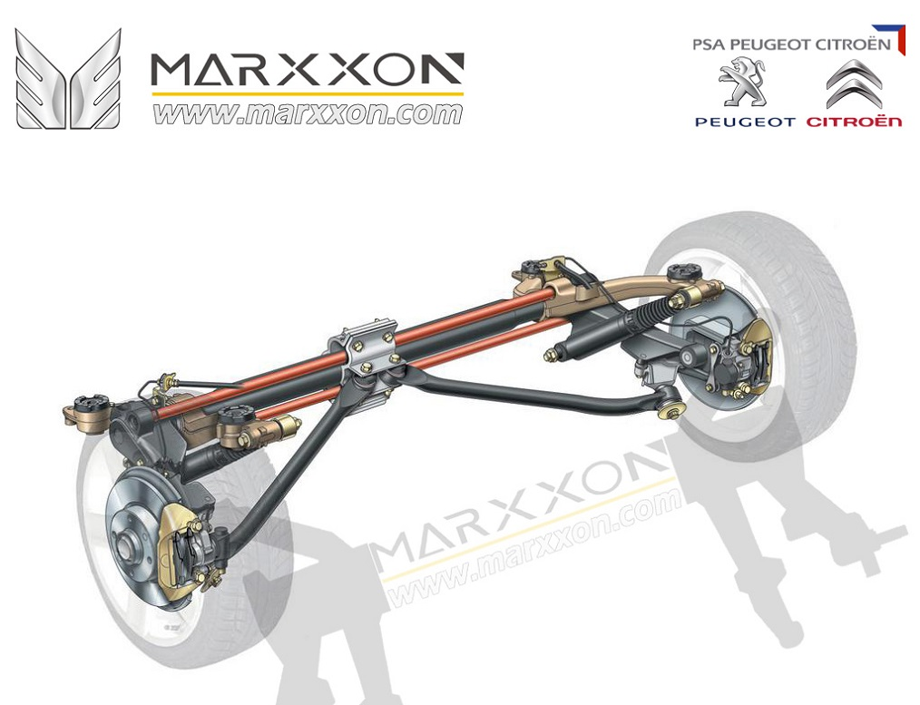 peugeot 206 suspension system steering system engine system marxxon machinery marxxon. Black Bedroom Furniture Sets. Home Design Ideas
