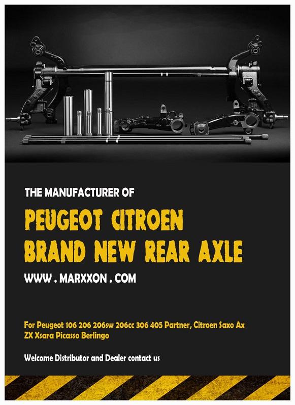 Marxxon Peugeot 206 306 Partner Citroen Saxo Xsara Berlingo Rear