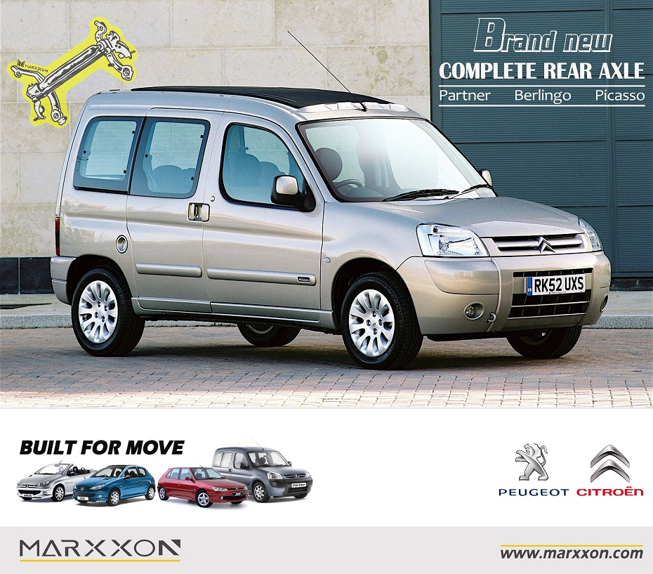 Brand New MARXXON Peugeot Ranch Partner Citroen Berlingo
