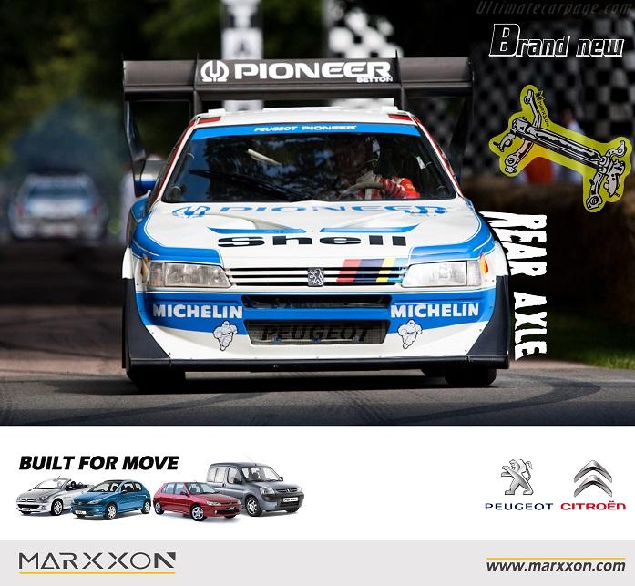 Peugeot 405 Turbo T16 GR Pikes Peak Rally motosport  MARXXON