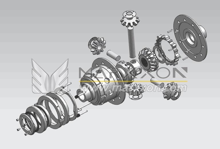 TRE E-Locker | MARXXON | Peugeot Citroen Rear Axle Train ... on
