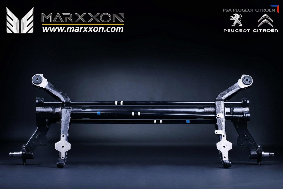 Efterstræbte Citroen Xsara Picasso Rear Axle Assembly OE: 514898 Hinterachse OG-24