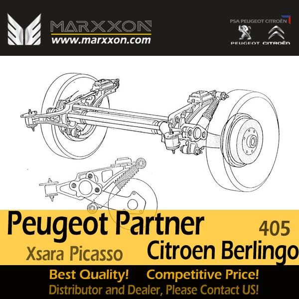 Nye Drawing of Marxxon Peugeot Ranch 405 Partner Citroen Berlingo WB-76
