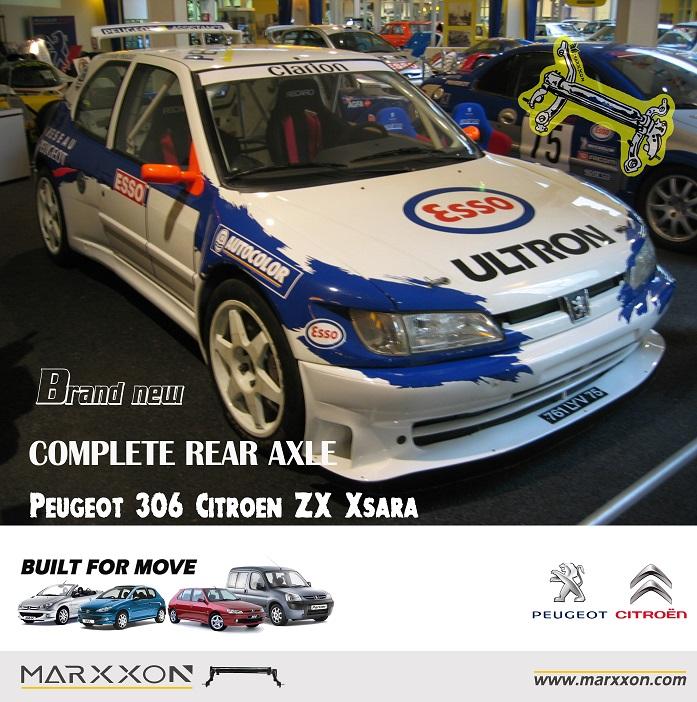 Frisk Peugeot 306 Maxi Rallye car Citroen ZX Xsara WRC Race | MARXXON FZ-45